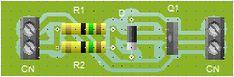 Convertidor, Reductor 12VDC - 9VDC. Circuito que permite obtener 9 VDC reduciendo los 12V o más que da la batería de un auto