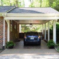Building A Garage Or Carport Pergola