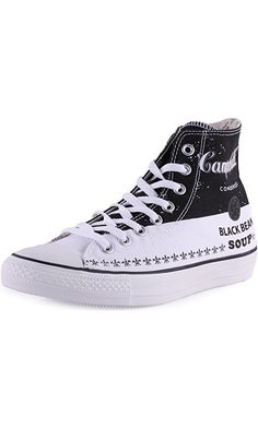 "Converse Chuck Taylor All Star High Top ""Andy Warhol"" Men's Sneakers 147051C Converse Black 8.5 M US Best Price"