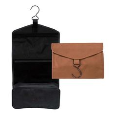 e11600d265498 Personalized Royce Milano Feather-Lite Manmade Leather Hanging Toiletry Bag