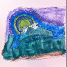 Dragonfly Horizon #30daysofcreativity #artcheckin