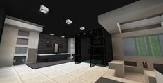modern minecraft bathroom decor