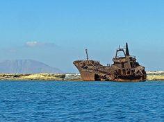 TRAVEL'IN GREECE | Shipwreck in Karpathos, #South_Aegean, #Greece, #travelingreece