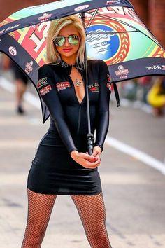 Girls sexy grid paddock girls
