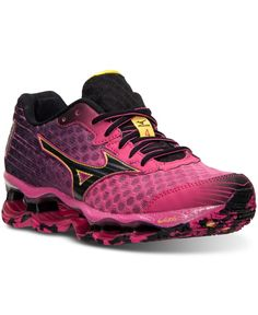 03c85643300 Mizuno Women s Wave Prophecy 4 Running Sneakers from Finish Line   Reviews  - Finish Line Athletic Sneakers - Shoes - Macy s