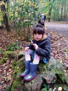 Trop sympa les #bottes de pluie !!! (9€ chez #babou) Happy☆ハッピー #enfant #girly
