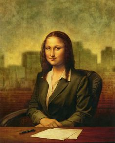 Mona Lisa: Italian Financier by Patrick Faricy
