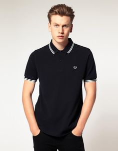 Fred Perry Slim Fit Twin Tipped Polo Top by Fred Perry