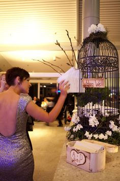 Wishing well- great idea for a wedding.