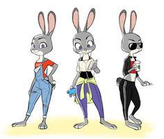 #JudyHopps #Disney #FanArt #ZOOTOPIA
