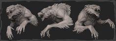 Storyboard artist at Cartoon Network. Werewolf Costume, Werewolf Art, Zbrush, Viking Character, Drawing Cartoon Faces, Apocalypse, Digital Sculpting, Storyboard Artist, Art Carved