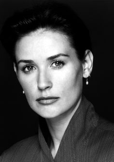 """""""I would say what scares me is that I'm going to ultimately find out at the end of my life that I'm really not lovable, that I'm not worthy of being loved. That there's something fundamentally wrong with me."""" — Demi Moore."""