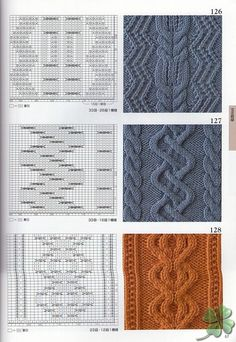 260 Knitting Pattern Book by Hitomi Shida 2016 — Yandex. Cable Knitting Patterns, Knitting Stiches, Knitting Charts, Lace Knitting, Knitting Designs, Knit Patterns, Stitch Patterns, Vogue Knitting, How To Purl Knit