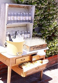 love this drink station