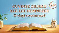 """Cuvinte zilnice ale lui Dumnezeu   Fragment 263   """"Dumnezeu conduce destinul întregii omeniri"""" #Cuvinte_zilnice_ale_lui_Dumnezeu #Dumnezeu #evlavie #O_lectură_a_Cuvântul_lui_Dumnezeu  #Evanghelie #Cunoașterea_lui_Dumnezeu Christian Movies, Christian Life, Todays Devotion, Word Of God, God Is, Saint Esprit, Daily Word, Normal Life, Knowing God"""