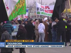 Hundreds of Arab Americans in Metro Detroit are taking a stand against ISIS and terrorism.