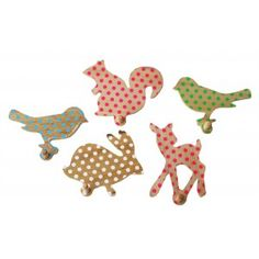 cute animal hooks for kids bedroom or playroom Clothes Hooks, Decoration Design, Wooden Crafts, Kid Styles, My Little Girl, Diy Projects To Try, Kids Decor, Kids Playing, Kids Bedroom