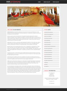 Mobile responsive website design for beauty salon. One design = Multiple devices
