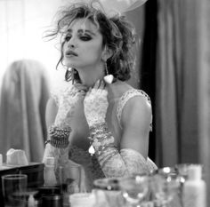 Madonna I liked her back then but dang come on woman cut your hair again and REALLY make a come back......