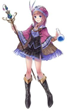 Atelier Totori: The Adventurer of Arland - Rorolina Frixell