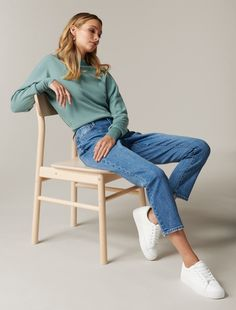 Forever New, Bat Wings, Jumper, Mom Jeans, Essentials, Normcore, Style Inspiration, Knitting, My Style