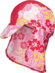Playshoes-Girls-UV-Sun-Protection-Hawaii-Collection-Sun-Swim-Cap-0