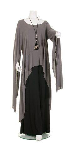 Mat Fashion Dramatic Grey Split-Sleeve Tunic - Mat Fashion from idaretobe.com UK