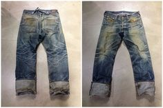 The G-star US Lumber was introduced in 1994; before anyone cared about heritage and selvedge denim. This pair has been worn for 9 years and never washed.