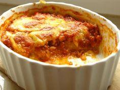 Gourmandises végétariennes: Polenta-Sojahack-Auflauf