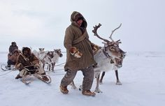 People of Chukotka, Russia.