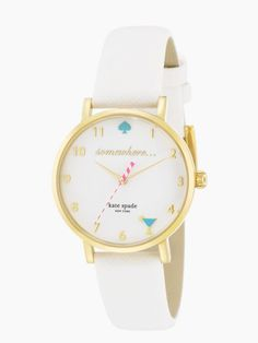 Kate Spade Somewhere O'Clock Watch ♥ Valentine's Day Gift Guide | StorybookApothecary.com