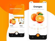 Shopping List App Concept by Mirek Nepelski