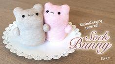 DIY Kawaii Sock Bunny Tutorial