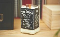 Jack Daniels Maple Bourbon Candle | Cool Material