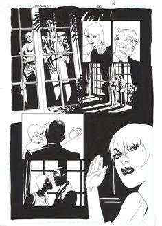 100 Bullets #100 page 14 Comic Art