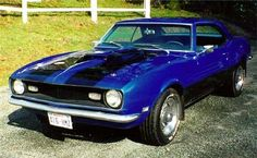'68 Camaro - My Dream car that I plan to have by 2016