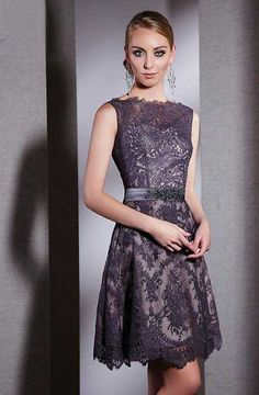 Şık Kısa Gece Elbisesi Modelleri