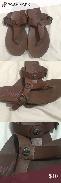 Blowfish sandals size 7.5 Perfect neutral shoe to pair with multiple looks this summer 🌞 Good used condition. Blowfish Shoes Sandals