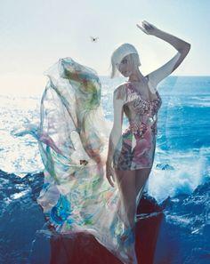 Blumarine S/S 2014 | Toni Garrn por Camilla Akrans [Full Campaign] Blog de Moda