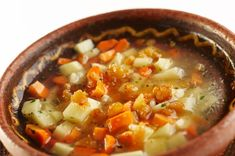 """Potato soup, otherwise known as the """"Rpičeva"""" soup is a staple in any kitchen of Koroška. The recipe of our grandmothers was frequently used back in the days as meat was on the menu at special occasions only. Grandmothers, Potato Soup, Chili, Special Occasion, Menu, Potatoes, Kitchen, Recipes, Food"""