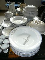 Egersund Fayance Plates, Tableware, Kitchen, Licence Plates, Dishes, Dinnerware, Cooking, Griddles, Tablewares