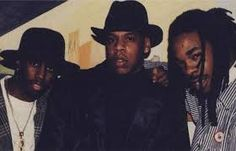 Young Jay-z, Diddy and Busta Ryhmes