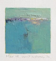Mar. 15 2017 Original Abstract Oil Painting by hiroshimatsumoto