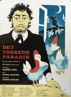 Det tossede paradis (1962) om beboerne på en lille ø, der pludselig vil læsrive sig fra Danmark.