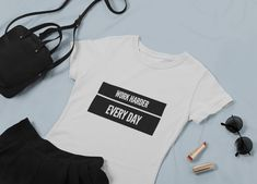 Discover Work Harder Every Day Damen T-Shirt from Gymster Shirts, a custom product made just for you by Teespring. - Add some fun to your sport wardrobe with this. Funny Gym Shirts, Trendy Clothes For Women, Sport, Work Hard, Sweatshirts, Sweaters, Tops, Fashion, Woman Shirt