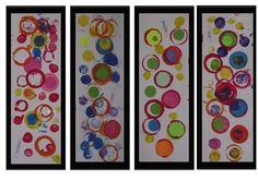 Preschool Art Projects, Preschool Art Activities, Preschool Arts And Crafts, Preschool Kindergarten, Art Center Preschool, Yayoi Kusama, Art Plastique, Elementary Art, Fall Crafts