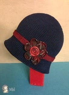 MOTHERS hyperactive: Cap style with flower Kanzashi Downton Abbey