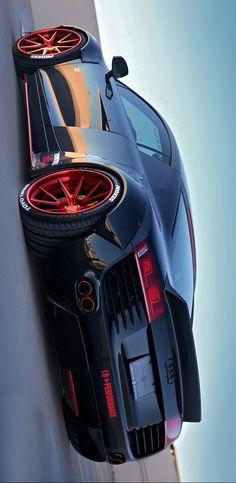 °) LB Performance Audi Liberty Walk van Creative Bespoke Source by Maserati, Ferrari, Bugatti, Audi R8, Us Cars, Sport Cars, Porsche 918 Spyder, Volkswagen, Cadillac