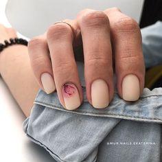Trending Summer Nail Designs for Short Nails - Manicure - NailiDeasTrends - Short Nail Manicure, Gel Nails, Nail Polish, Acrylic Nails, Manicures, Coffin Nails, Minimalist Nails, Cute Nails, Pretty Nails