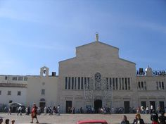 Our Lady of Grace, San Giovanni Rotondo, Italy Southern Province, Our Lady, Sicily, Italy Travel, Places Ive Been, Louvre, Building, Image, Faith